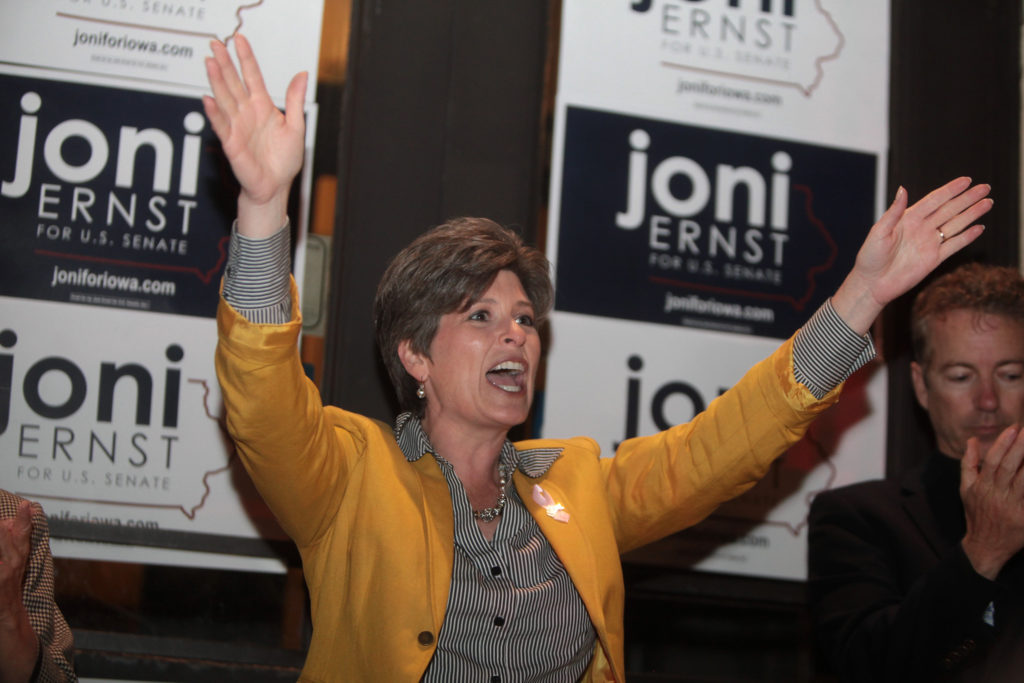 Joni Ernst sides with the NRA over Iowans